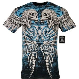 XTREME COUTURE by AFFLICTION Men T-Shirt DECAY